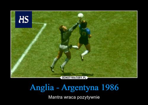 Anglia - Argentyna 1986